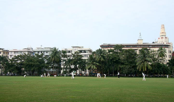 Cricket stadium in Bombay, India