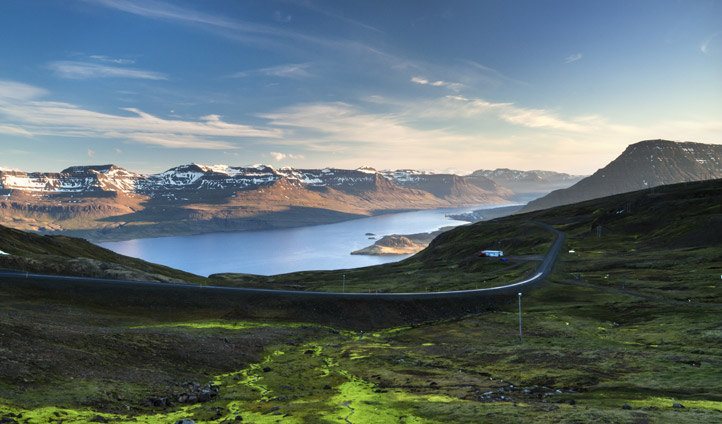 Iceland's eastern fjords