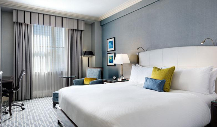 Light, bright and modern guestrooms