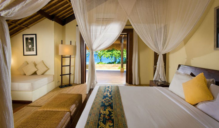 The rooms at Nihiwatu