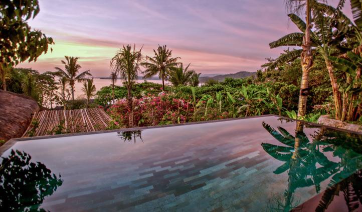 Views from the Nihiwatu pool