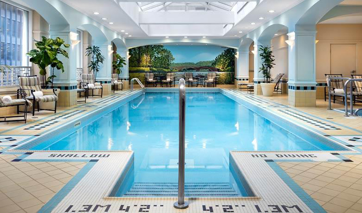 Head down to the Health Club for a few laps of the pool
