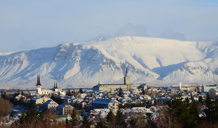 Views over Reykjavik