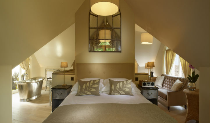The Loft Suite at Dormy House Hotel