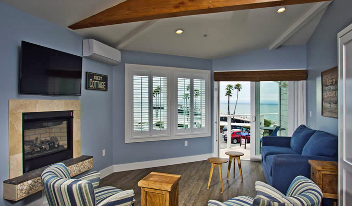 Views to the water from your suite in Santa Cruz