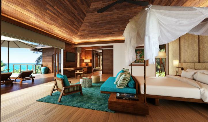 The Hideaway Villa overlooking the ocean