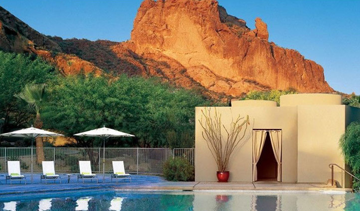 Unwind at the Sancturary at Camelback Mountain