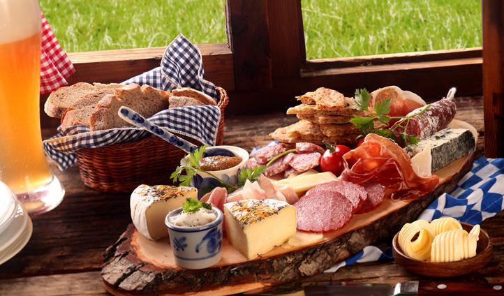Enjoy a true Bavarian lunch