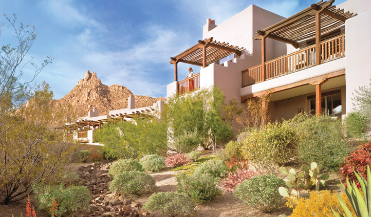 Experience desert luxury at the Four Seasons