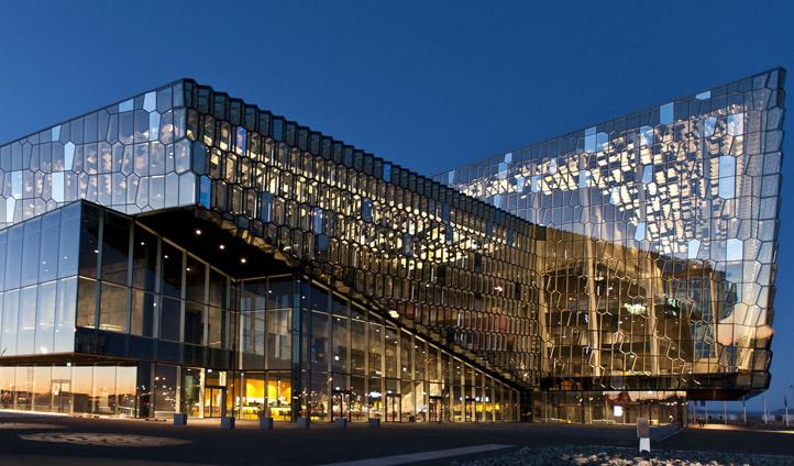 Harpa Music Hall Reykjavik
