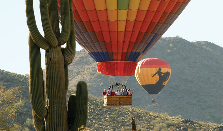 Soar above the Sonoran hills