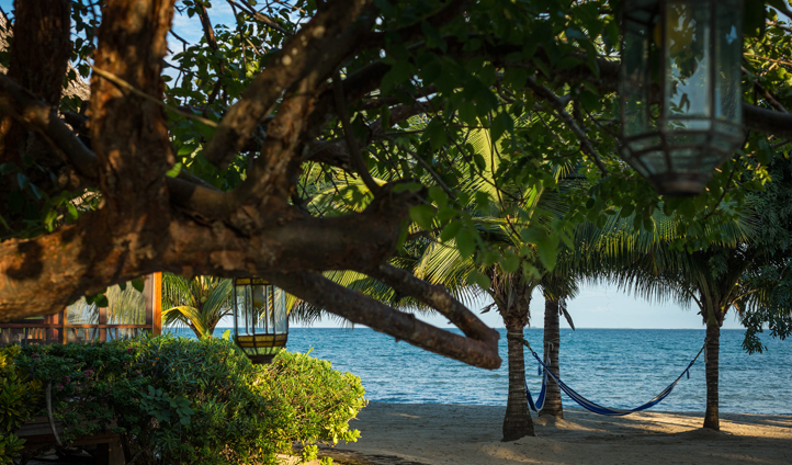 Beach-side living at Turtle Inn, Belize