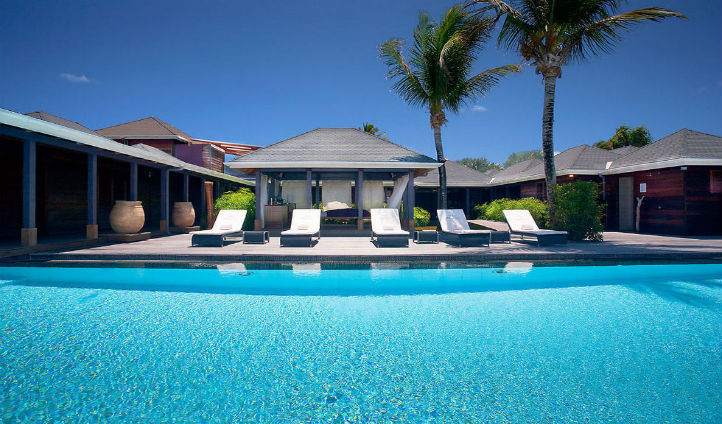 Relax by the beautiful pool