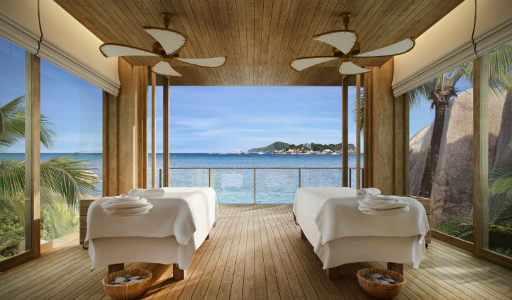 Indulge in the Spa with gorgeous ocean views