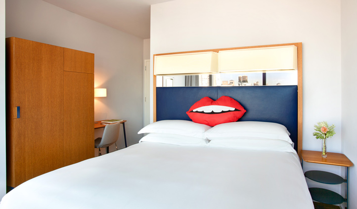 The quirky rooms at the Standard East Village