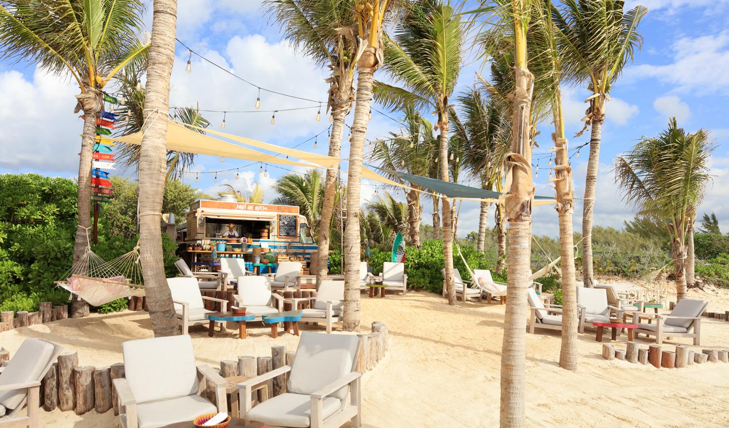 Refuel at the Beach Bar
