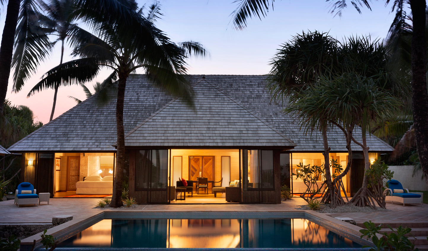 Prefer to feel the sand between your toes? Head to one of the Beach Villas