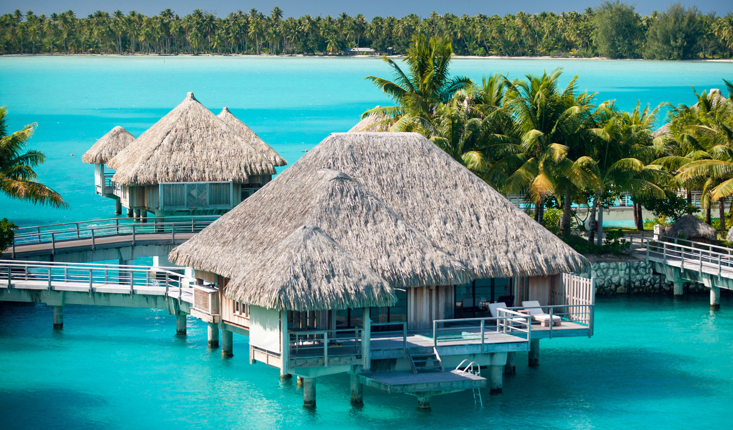 An iconic stay in an overwater villa