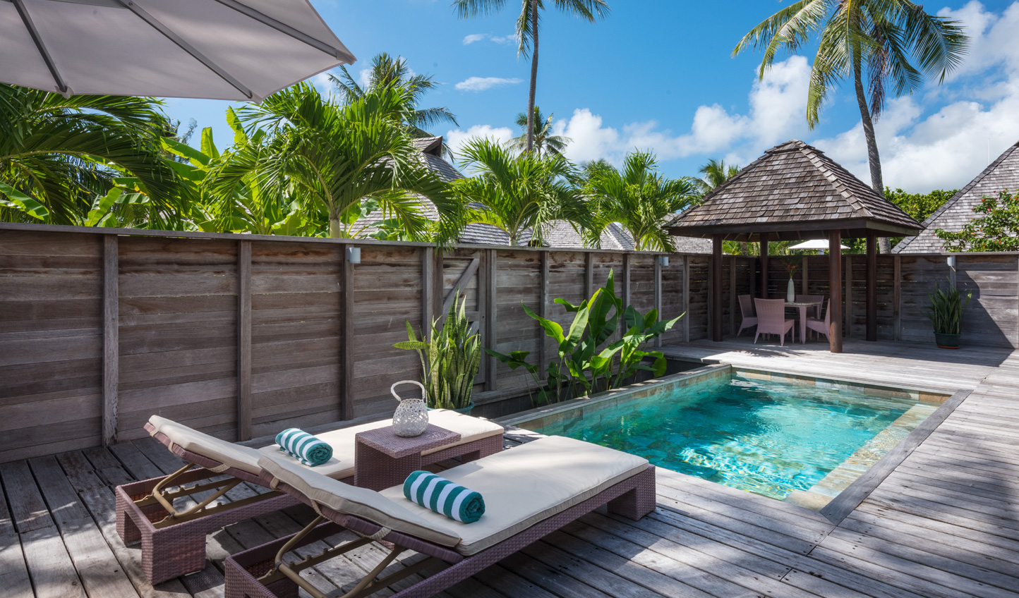 Take a dip in your private plunge pool