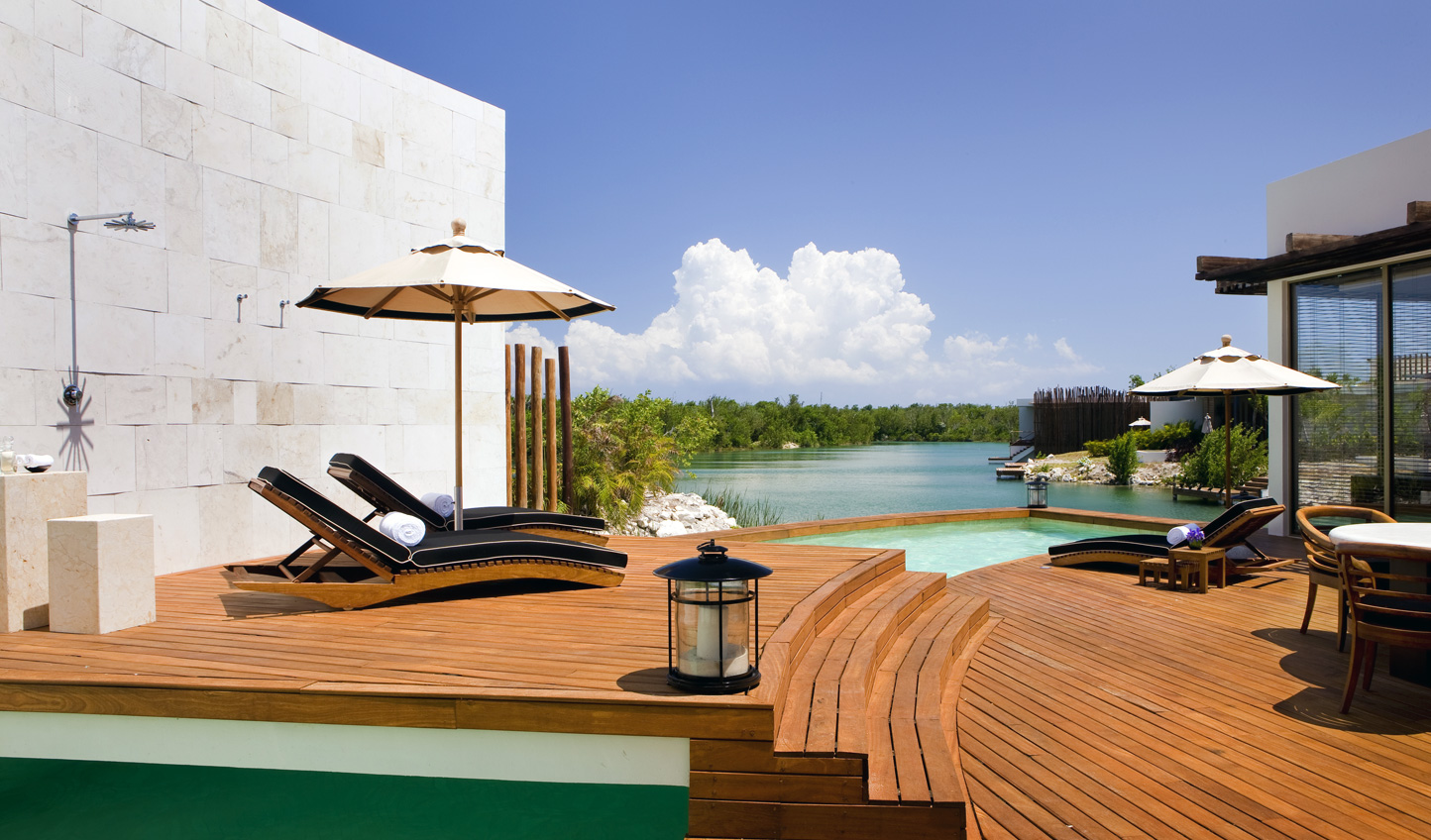 Relax in the splendour of your private villa at Rosewood Mayakoba