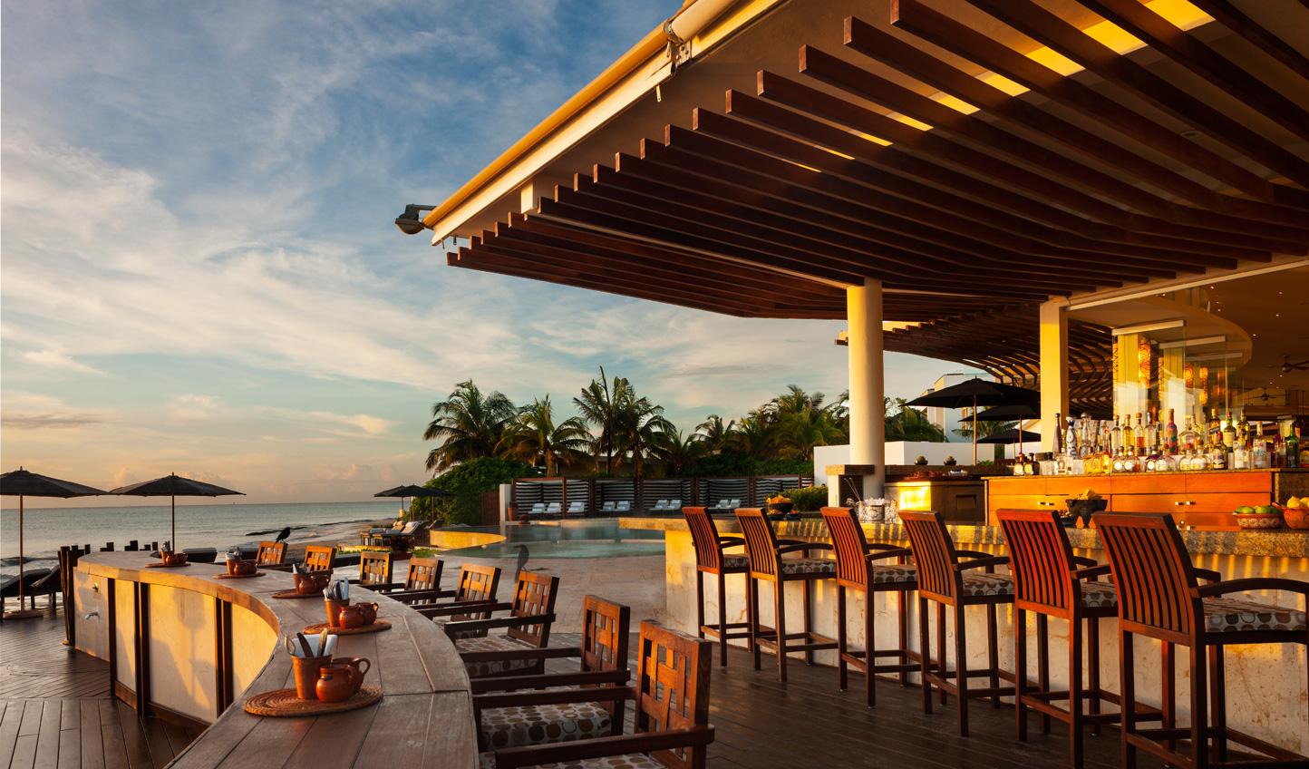 Sip cocktails while the sun sets at Punta Bonita
