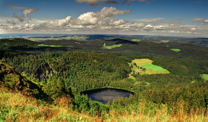 Soak in the views of the Black Forest