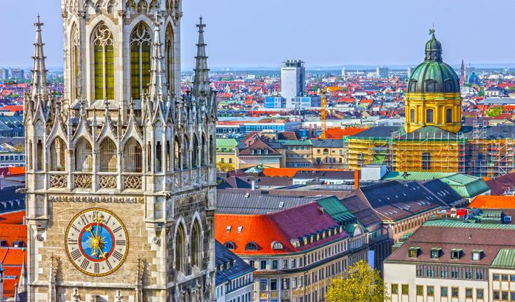 Explore colourful Munich