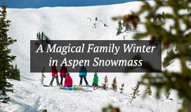 A Family on the Slopes in Aspen Snowmass