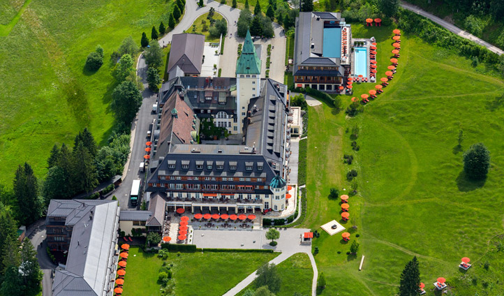 Schloss Elmau spa hotel in Germany