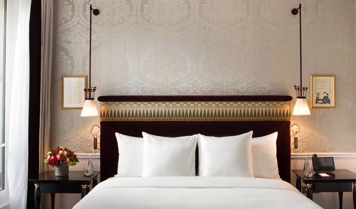 Stunning bedroom at La Réserve