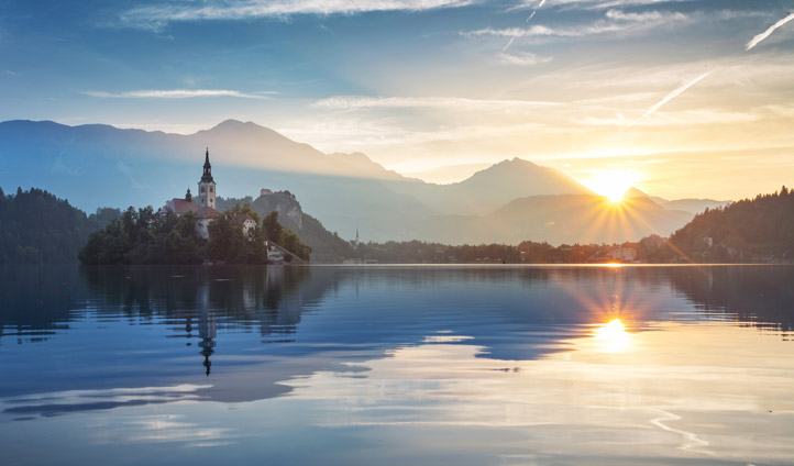 Finally witness the beauty of Lake Bled