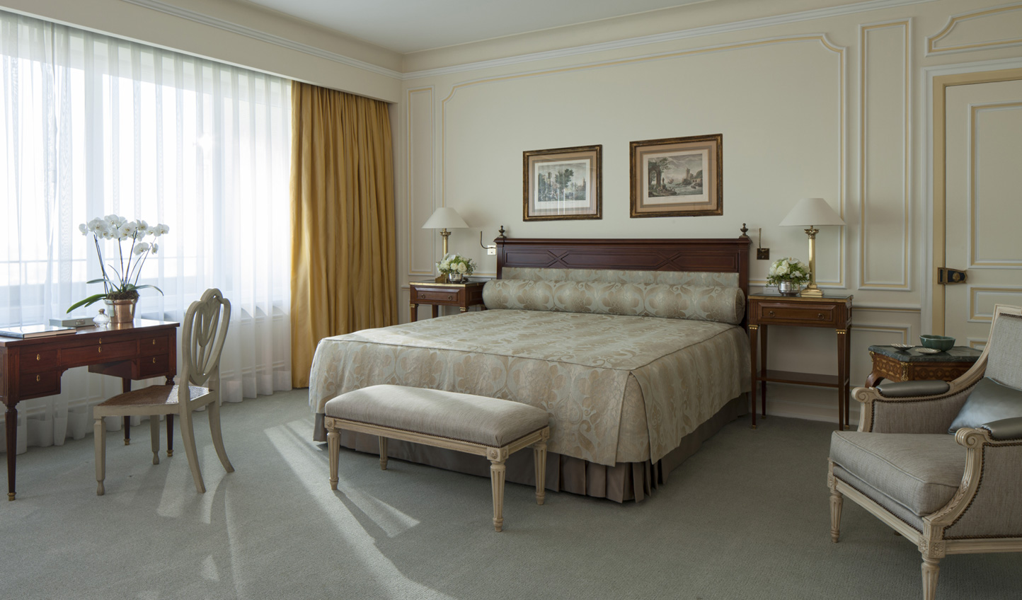 Classic elegance makes the Hotel Ritz one luxurious pick