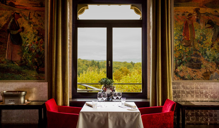 Dine with unrivalled city views at The Restaurant