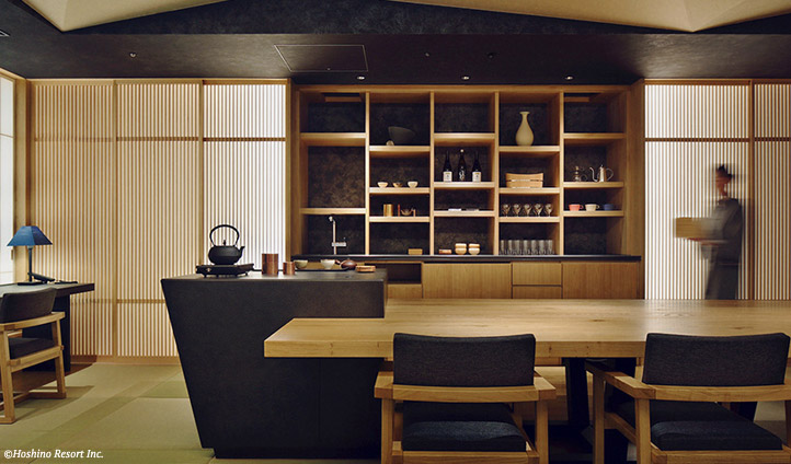 Hoshinoya Tokyo room