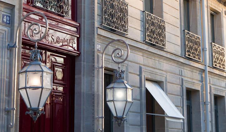 Beautiful exterior of La Réserve