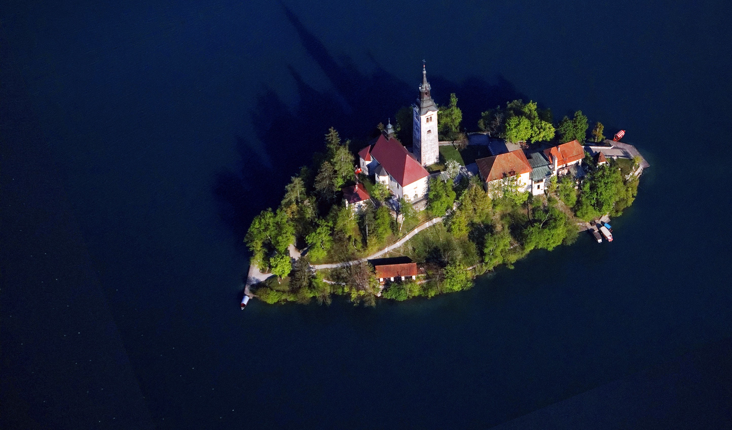 Explore the island that lies at the heart of Lake Bled