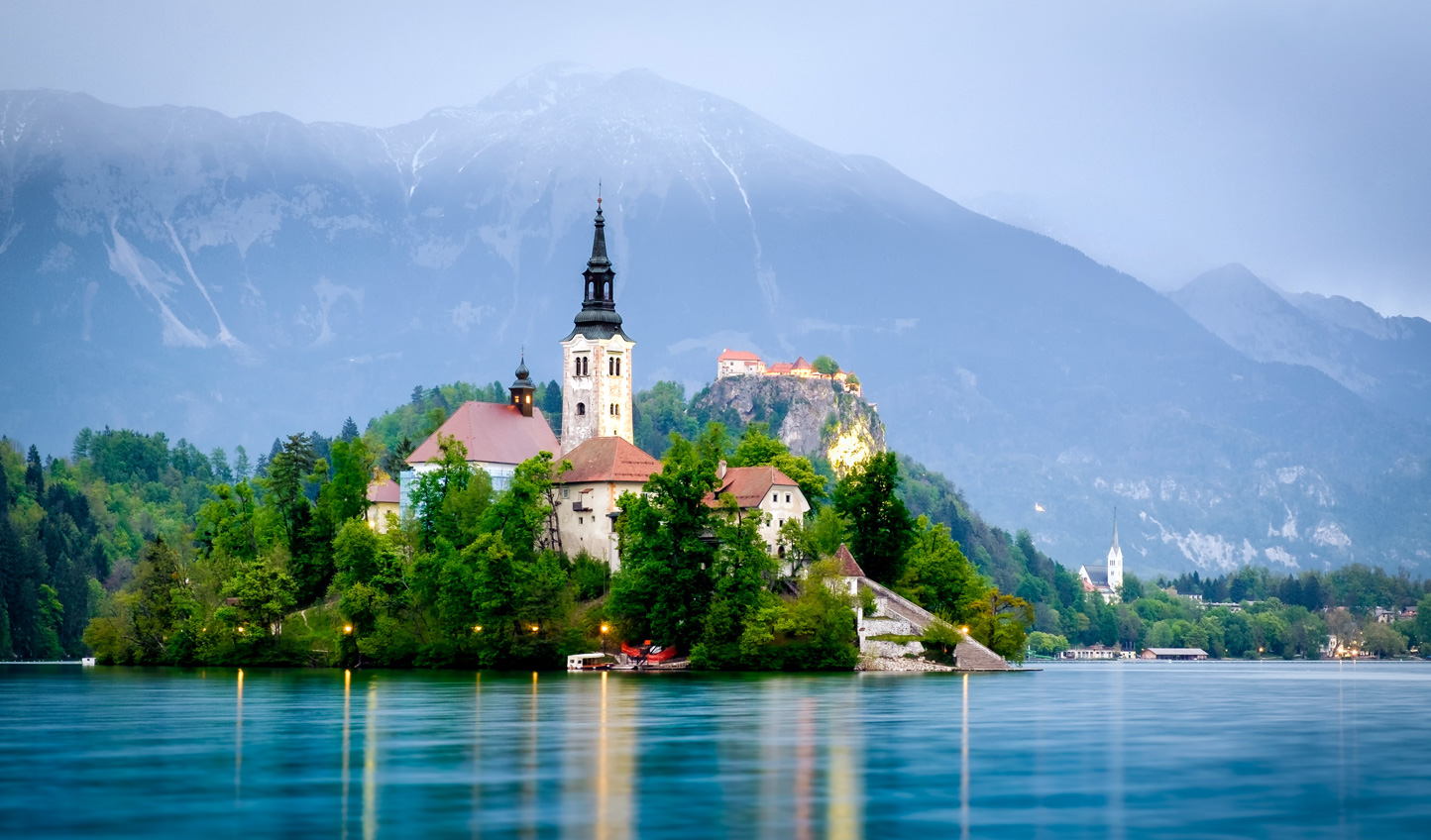 Postcard-perfect sights on Lake Bled
