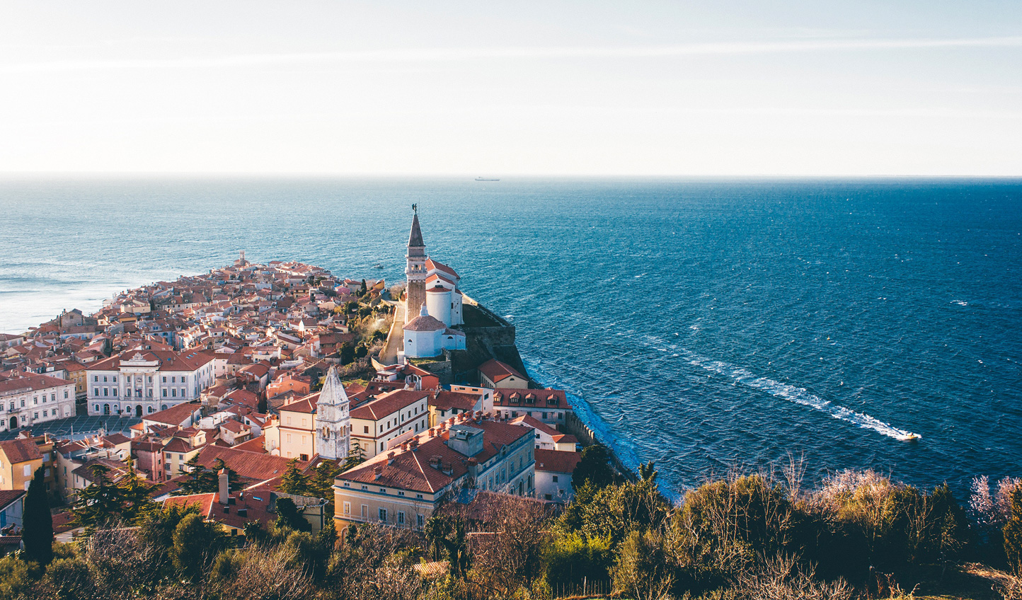 Uncover the beauty of Slovenia's coastline at Piran