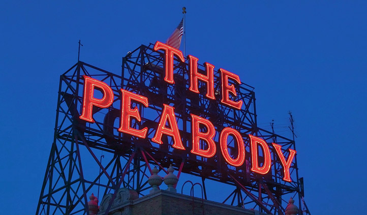 Welcome to your grand abode - Image © Peabody Hotel