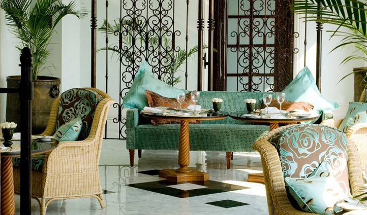 Sink into colonial luxury with tea at the Sea Lounge