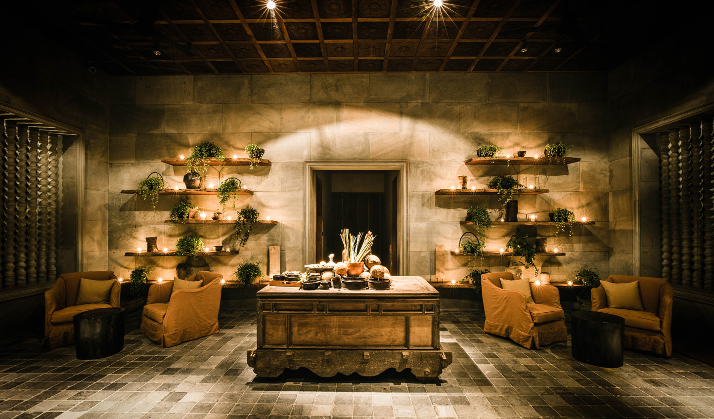 Discover ancient therapies at the Spa