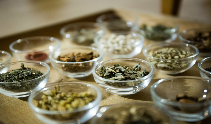 The ancient herbs used in the Spa