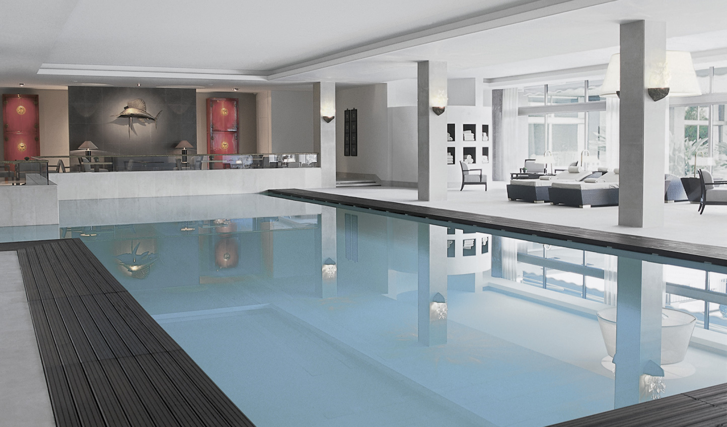 Al that sightseeing can be hard work - head to the spa to unwind