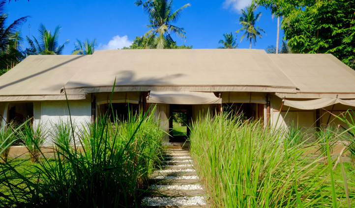 Stay in your own private villa in Indonesia