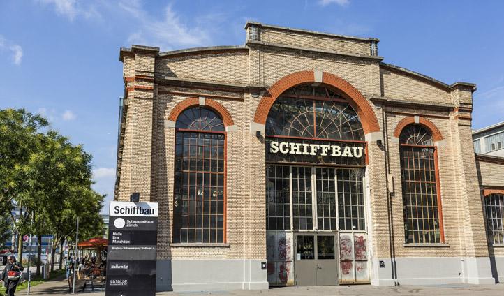 Schiffbau, a converted ship factory, in hip Zurich West