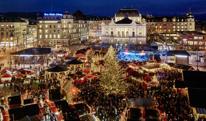Christmas market, Zurich | Black Tomato