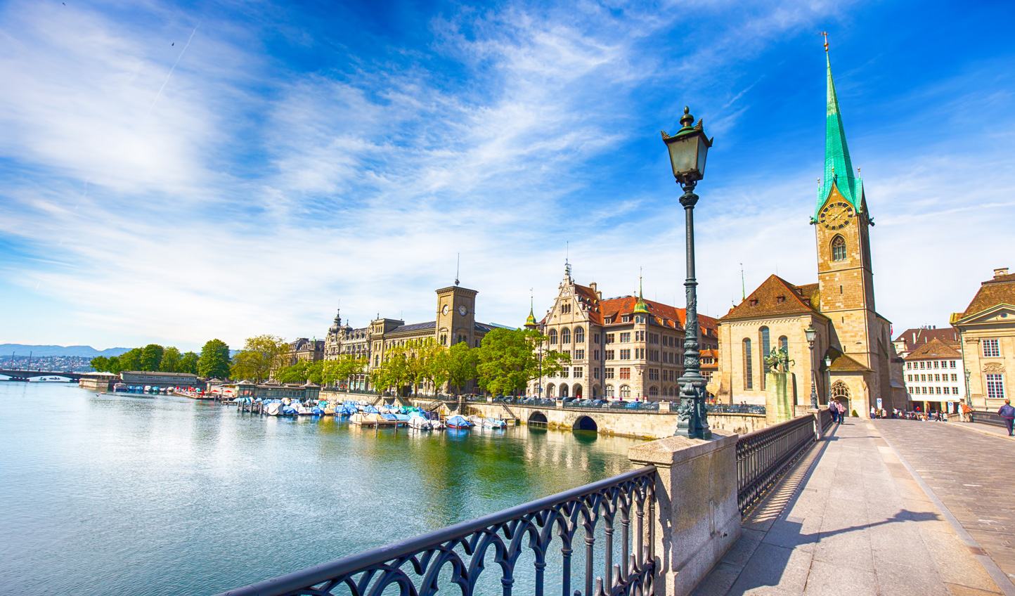 Discover Zurich's ancient history and modern culture
