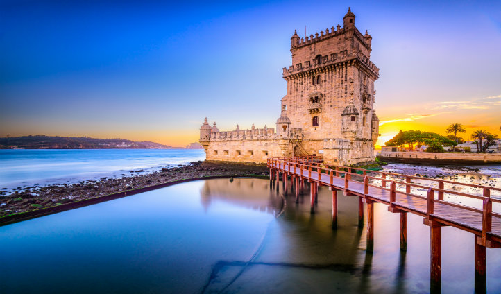 Explore the Belem Tower in Lisbon