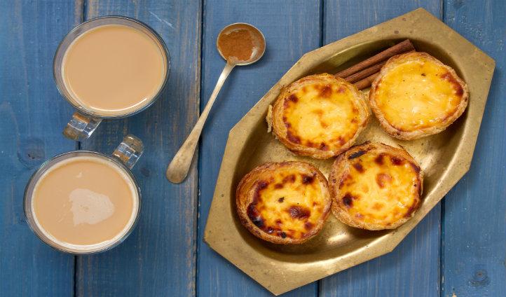 Learn to make traditional Portuguese custard tarts 'Pasta de Nata'