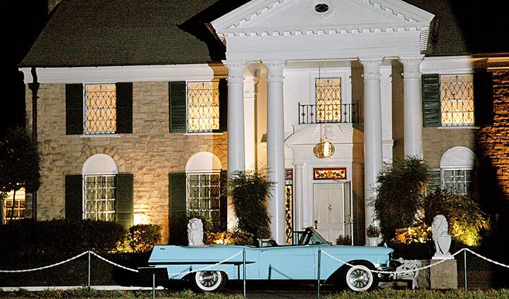 Elvis' former home, Graceland